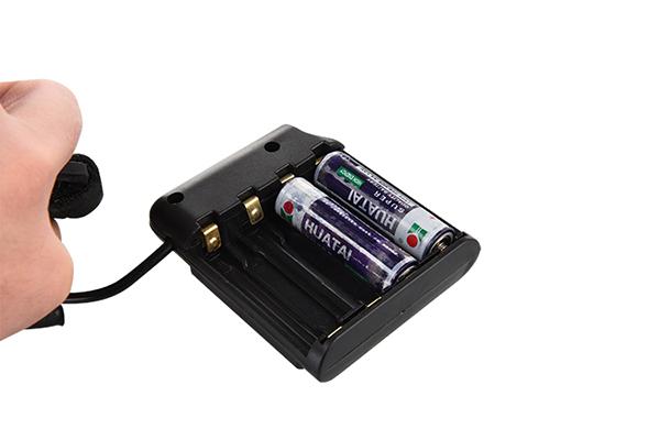 AA battery headlamp CREE LED 700LM 150m lighting distance 4