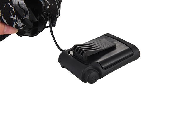 AA battery headlamp CREE LED 700LM 150m lighting distance 5