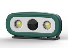 Audio lights multi-function work lights with bluetoothAudio lights multi-function work lights with bluetooth