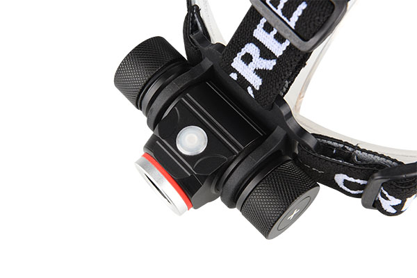 Head torch rechargeable 800LM with strobe and SOS mode 4