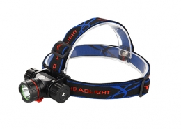 Hunting headlamp 200m lighting distance Luminus 10E LED