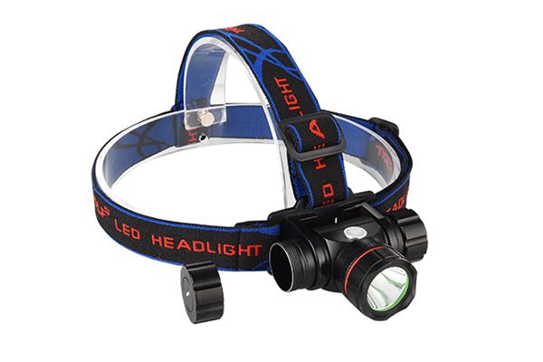 Hunting headlamp 200m lighting distance Luminus 10E LED 3