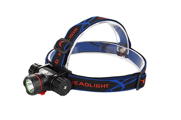 Hunting headlamp 200m lighting distance Luminus 10E LED