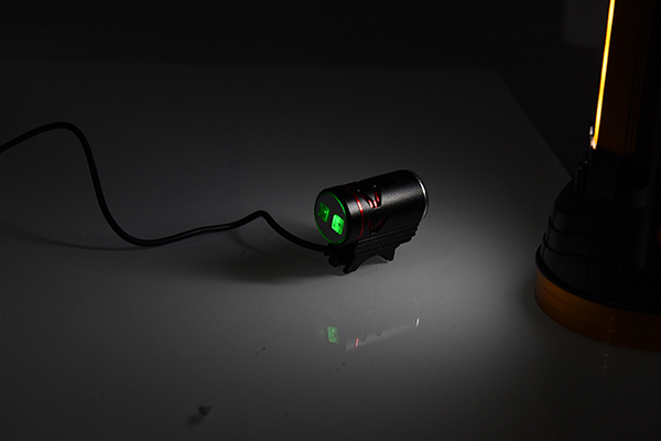 LED bicycle lights with external power supply 4