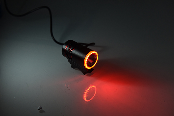 LED bicycle lights with external power supply 5
