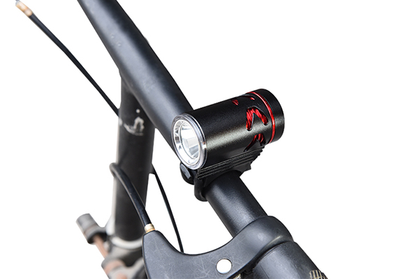 LED bicycle lights with external power supply 7