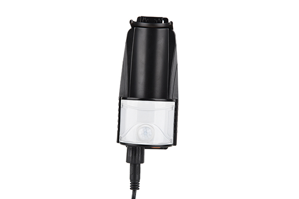 Rechargeable pocket flashlight 500LM with magnetic tail 7
