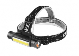 Waterproof led flashlight IP65 rechargeable COB work light