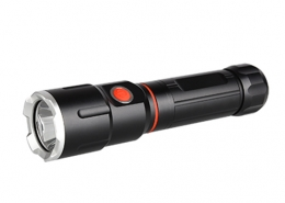 Work flashlight IP64 side led COB 18650 lithium ion battery
